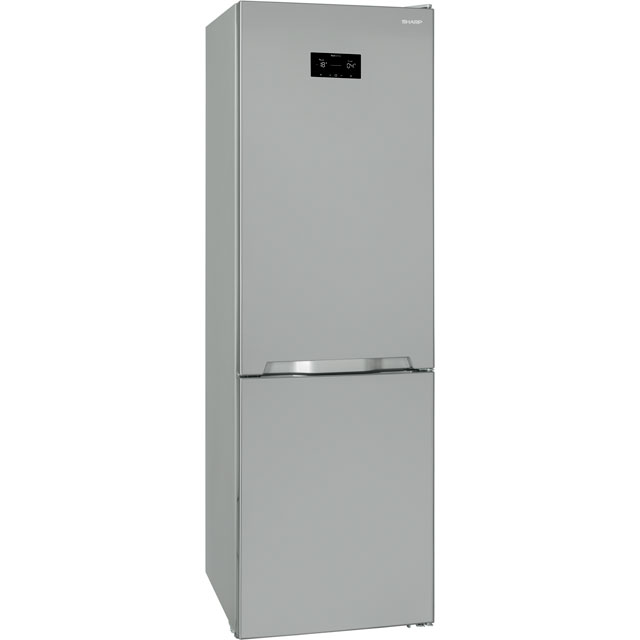 Sharp SJ-BA33IHXI2-EN 50/50 Frost Free Fridge Freezer - Stainless Steel Effect - SJ-BA33IHXI2-EN_SSL - 1