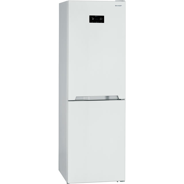 Sharp SJ-BA33IHXW2-EN 50/50 Frost Free Fridge Freezer - White - A++ Rated - SJ-BA33IHXW2-EN_WH - 1