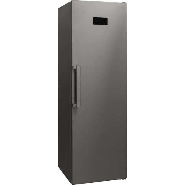Sharp Frost Free Upright Freezer - Stainless Steel Effect - A+ Rated