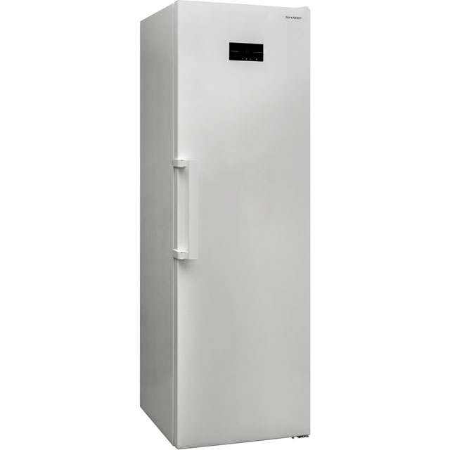 Sharp SJ-SC31CHXW1-EN Frost Free Upright Freezer - White - A+ Rated - SJ-SC31CHXW1-EN_WH - 1