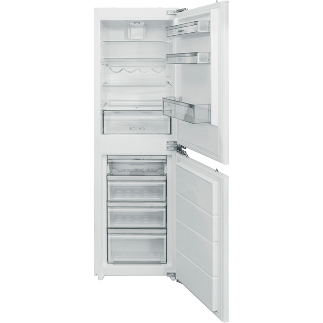 Sharp SJ-B1227M01X-EN Integrated 50/50 Frost Free Fridge Freezer - White - A+ Rated Best Price, Cheapest Prices