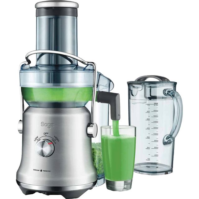 Sage Nutri Juicer® Cold Plus SJE530BSS Juicer - Brushed Stainless Steel