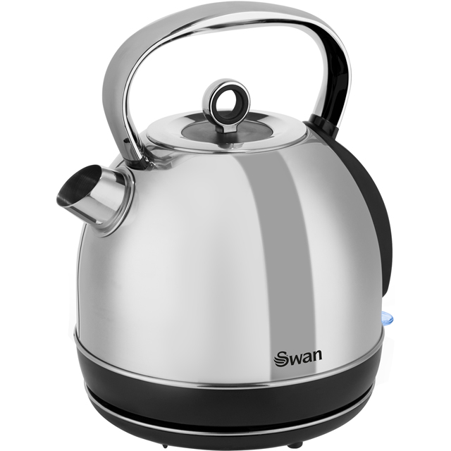 Swan Classic SK14070N Kettle in Polished Stainless Steel