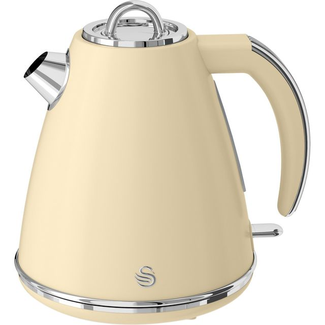 Swan Retro Kettle - Cream