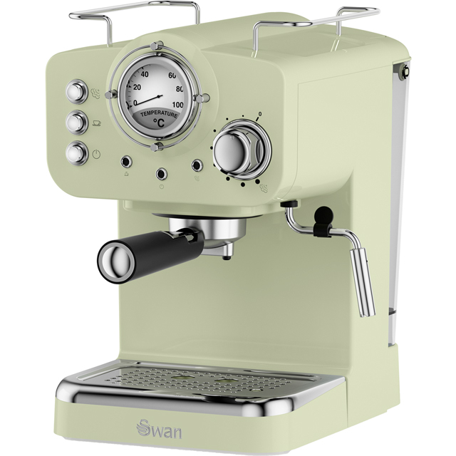 Swan Retro SK22110GN Espresso Coffee Machine - Green