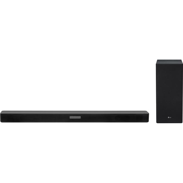 LG SK5 Bluetooth Soundbar with Wireless Subwoofer - Black