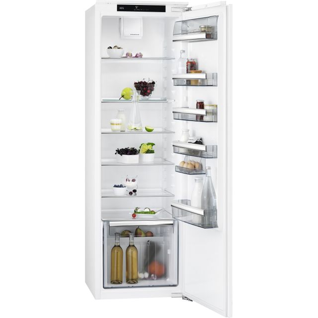 AEG SKB818F1DC Integrated Upright Fridge - Fixed Door Fixing Kit - White - A++ Rated