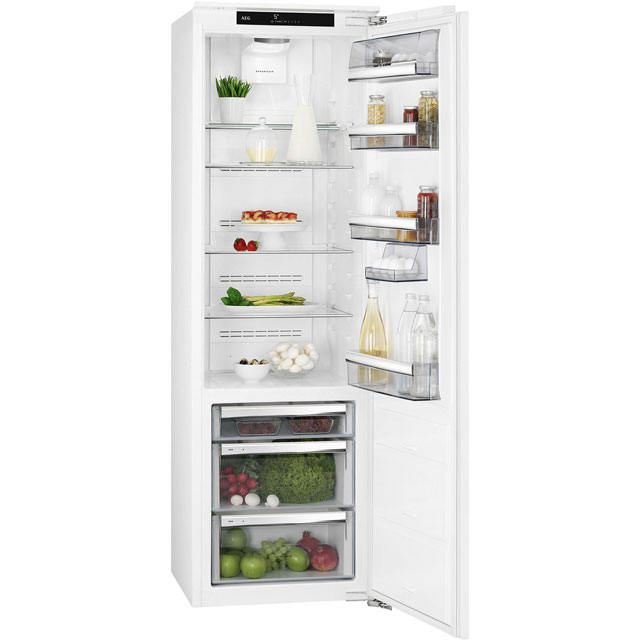 AEG SKS8182VZC Built In Fridge - White - SKS8182VZC_WH - 1