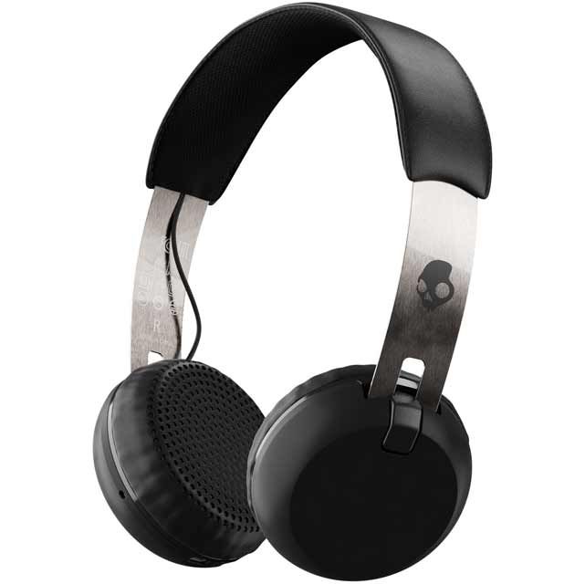 Skullcandy Grind Wireless On-Ear Wireless Headphones - Black - Grind Wireless_BK - 1