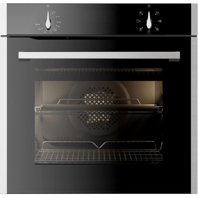 CDA SL100SS Built In Electric Single Oven - Stainless Steel - SL100SS_SS - 1