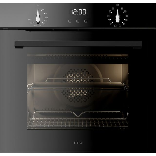 CDA SL300SS Built In Electric Single Oven - Stainless Steel - SL300SS_SS - 1