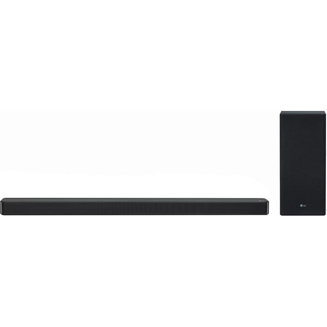 LG SL6Y Bluetooth Soundbar with Wireless Subwoofer - Black - SL6Y - 1