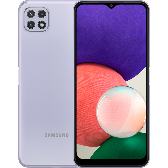 Samsung Galaxy A22 64 in Violet Purple