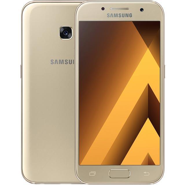 Samsung Mobile Galaxy A3 (2017) SM-A320FZDNBTU Mobile Phone in Gold