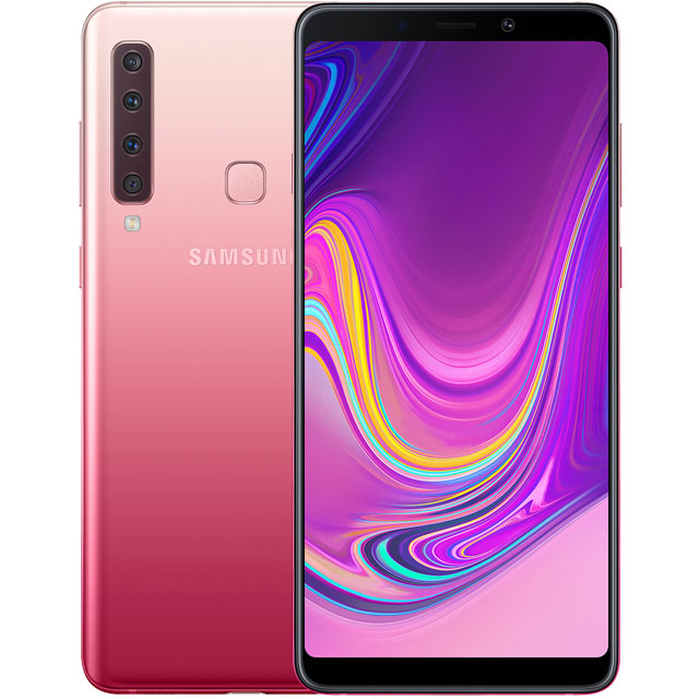 Samsung Galaxy A9 128GB Smartphone in Pink