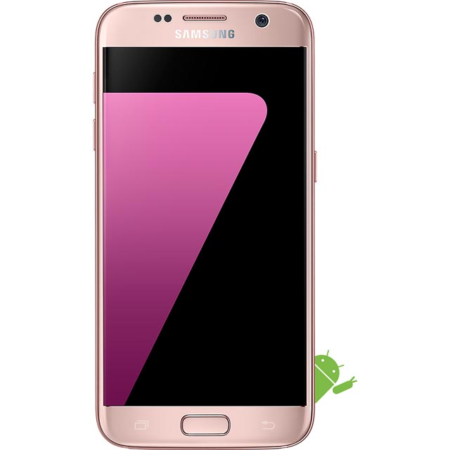 Samsung Mobile Galaxy S7 Series SM-G930FEDABTU Mobile Phone in Pink Gold