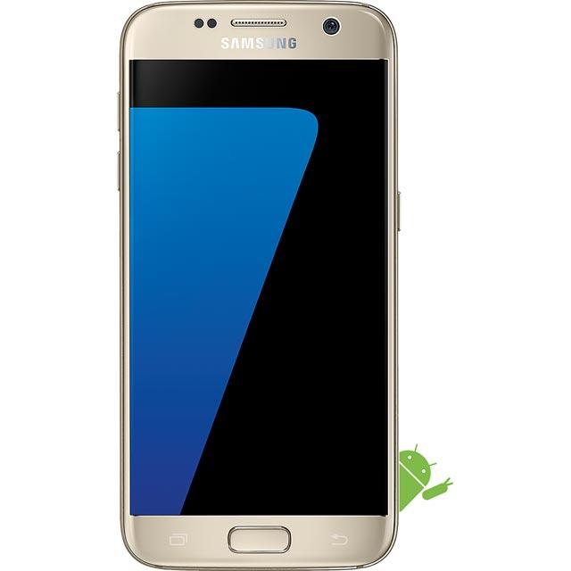 Samsung Mobile Galaxy S7 Series SM-G930FZDABTU Mobile Phone in Gold