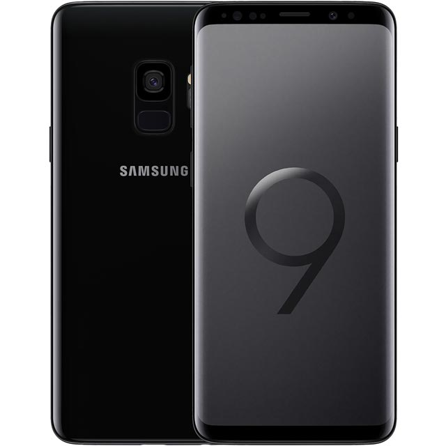 Samsung Galaxy S9 64GB Smartphone in Black - SM-G960FZKABTU - 1