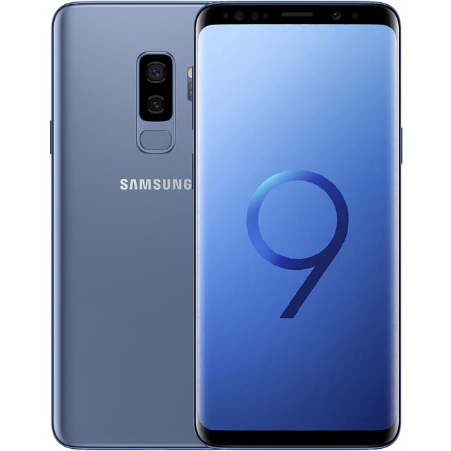 Samsung Galaxy S9+ 128GB Smartphone in Coral Blue