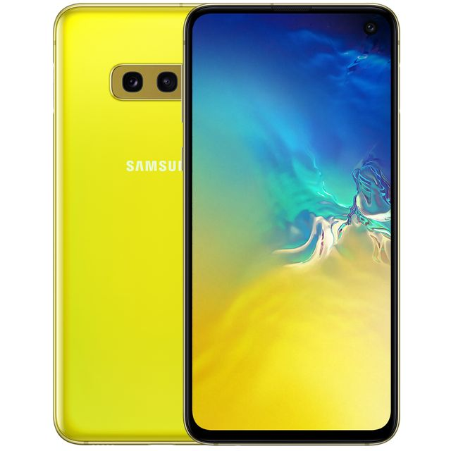 Samsung S10e 128GB Smartphone in Yellow - SM-G970FZYDBTU - 1
