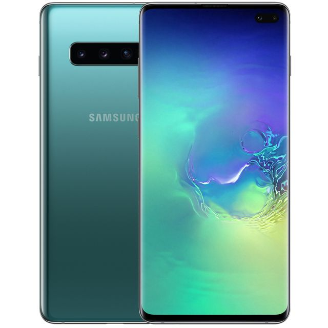 Samsung Galaxy S10+ 128GB Smartphone in Green - SM-G975FZGDBTU - 1