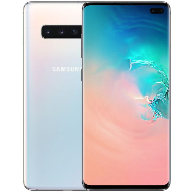 Samsung Galaxy S10+ 128GB Smartphone in White