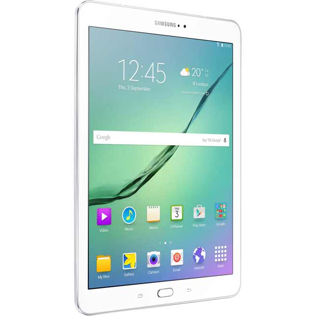 "Samsung Galaxy Tab A 7"" 8GB WiFi Tablet - White - SM-T280NZWABTU - 1"
