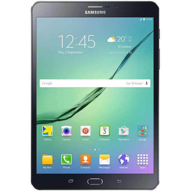 "Samsung Galaxy Tab S2 8"" 32GB WiFi Tablet - Black - SM-T713NZKEBTU - 1"