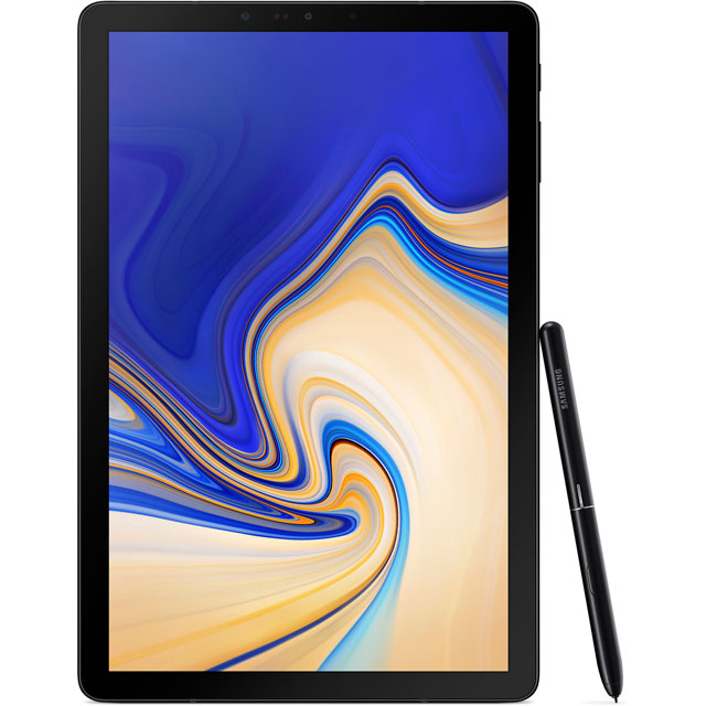 "Samsung Galaxy Tab S4 10.5"" 64GB WiFi Tablet [2018] - Black - SM-T830NZKABTU - 1"