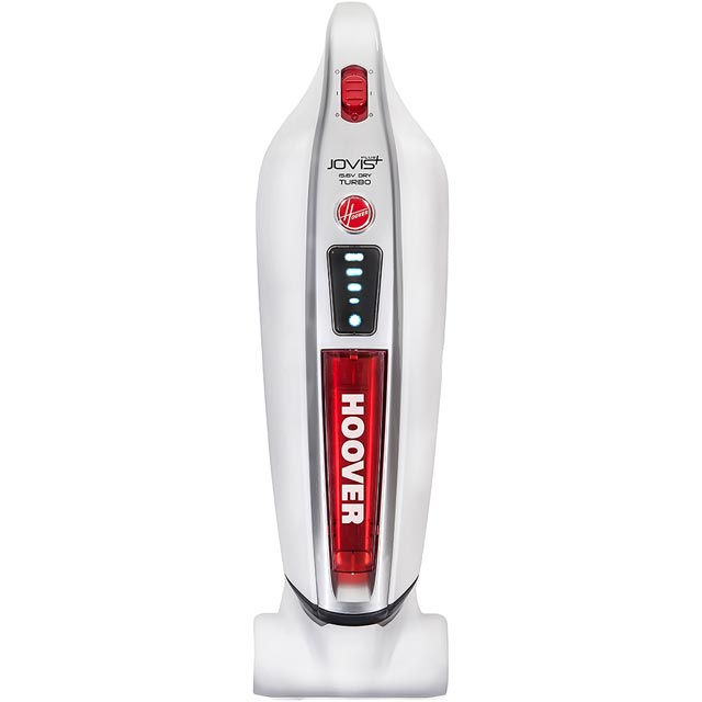 Hoover Jovis Plus Turbo SM156DPN Handheld Vacuum Cleaner - White / Red - SM156DPN_WR - 1