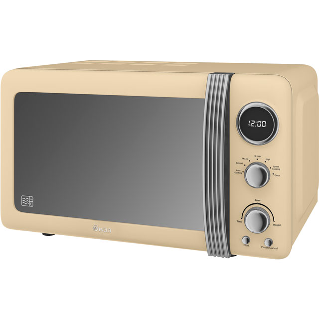 Swan Retro SM22030CN 20 Litre Microwave - Cream Best Price, Cheapest Prices