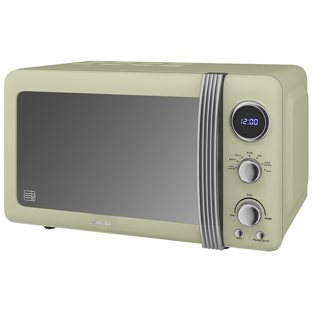 Swan Retro SM22030GN 20 Litre Microwave - Green - SM22030GN_GR - 1