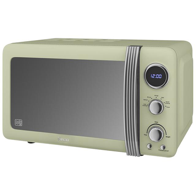 Swan SM22030GN Standard Microwave- Green