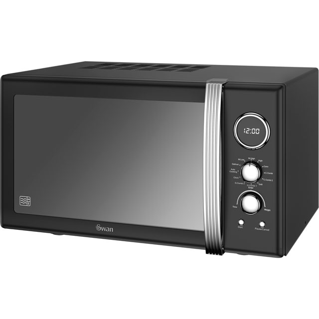 Swan Microwave Oven: Review Of Swan Retro Digital SM22080BN Free Standing