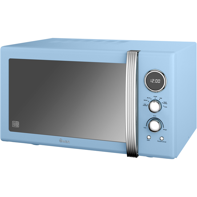 Swan Retro SM22085BLN 25 Litre Combination Microwave Oven - Blue