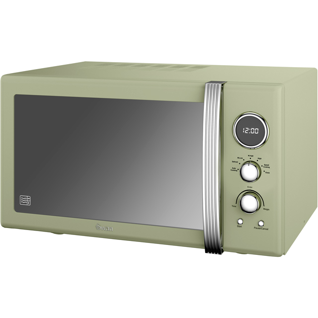 Swan Retro SM22085GN 25 Litre Combination Microwave Oven - Green