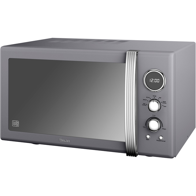 Swan Retro SM22085GRN 25 Litre Combination Microwave Oven - Grey