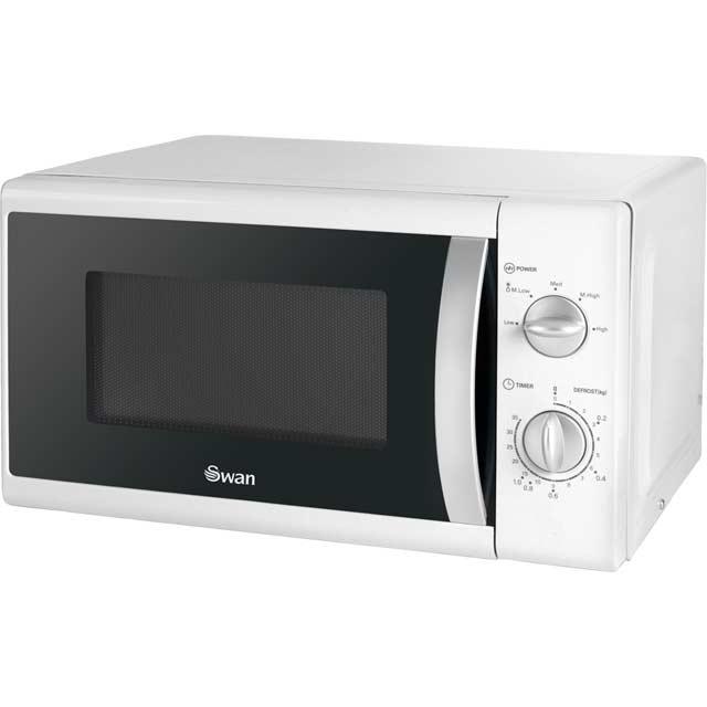Swan SM40010N Standard Microwave - White