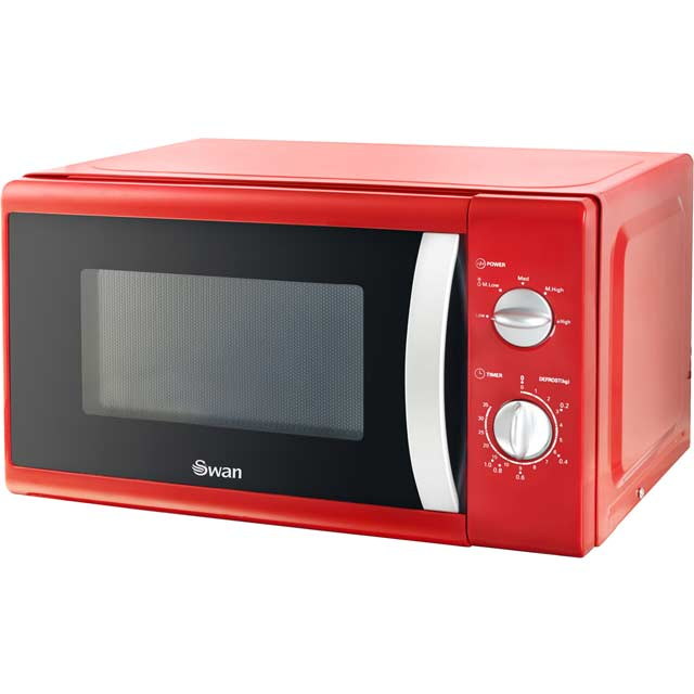 Swan SM40010REDN 20 Litre Microwave - Red