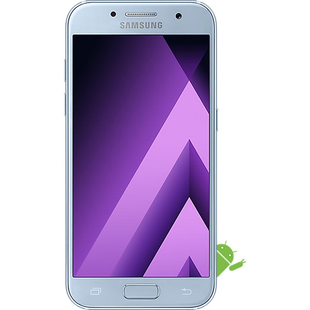 Samsung Mobile Galaxy A3 (2017) SM-A320FZBNBTU Mobile Phone in Blue