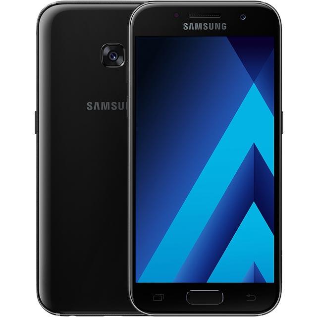 Samsung Mobile Galaxy A3 (2017) SM-A320FZKNBTU Mobile Phone in Black