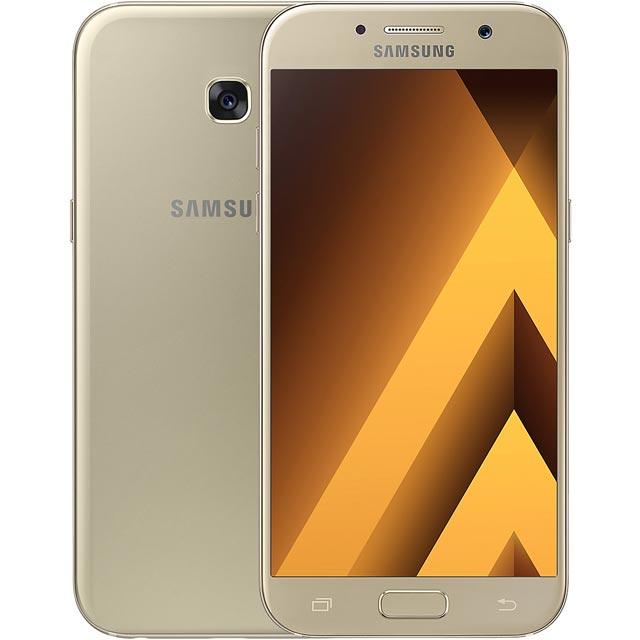 Samsung Mobile Galaxy A5 (2017) SM-A520FZDABTU Mobile Phone in Gold