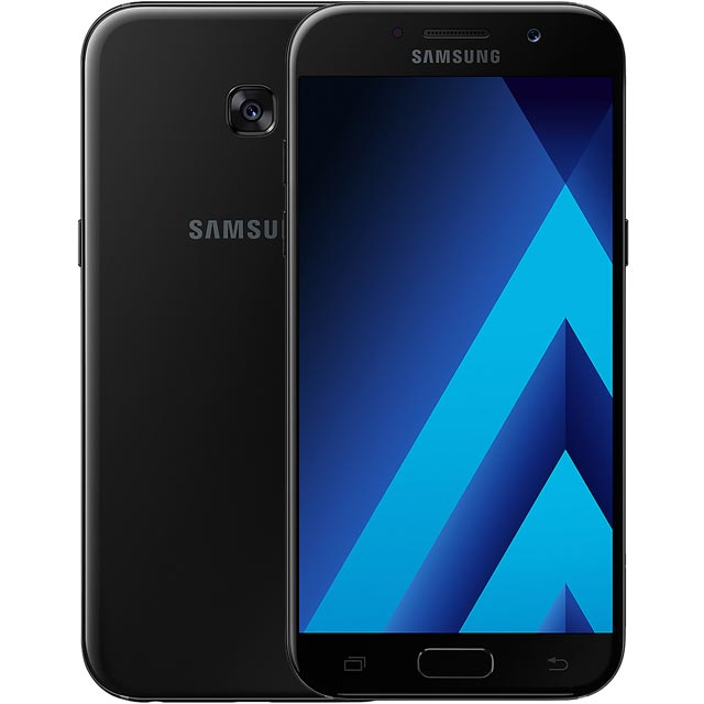 Samsung Mobile Galaxy A5 (2017) SM-A520FZKABTU Mobile Phone in Black