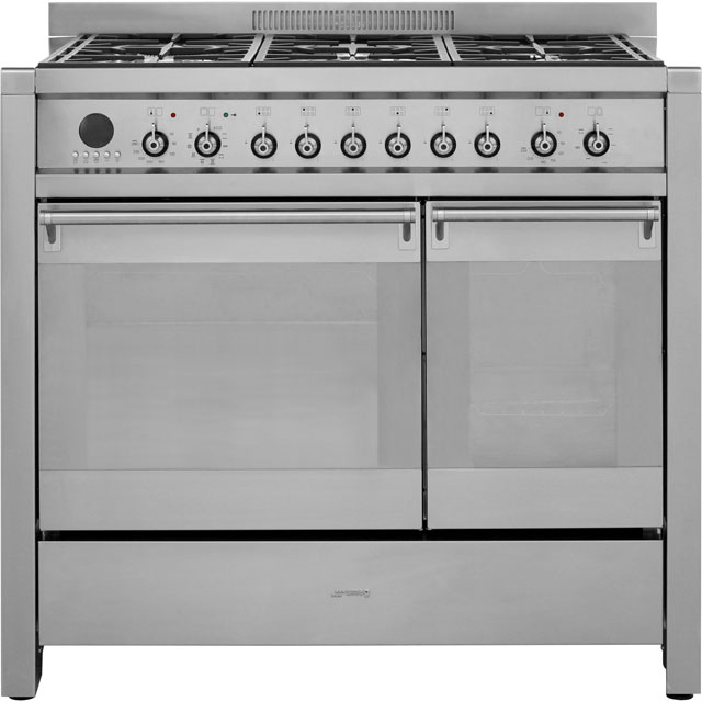 Smeg Opera A2PY-8 100cm Dual Fuel Range Cooker - Stainless Steel - A/B Rated