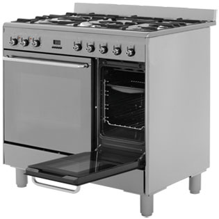 Smeg CG92X9 Dual Fuel Range Cooker - Stainless Steel - CG92X9_SS - 3