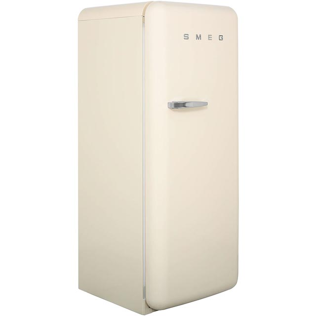 Smeg Right Hand Hinge CVB20RP1 Upright Freezer - Cream - A+ Rated