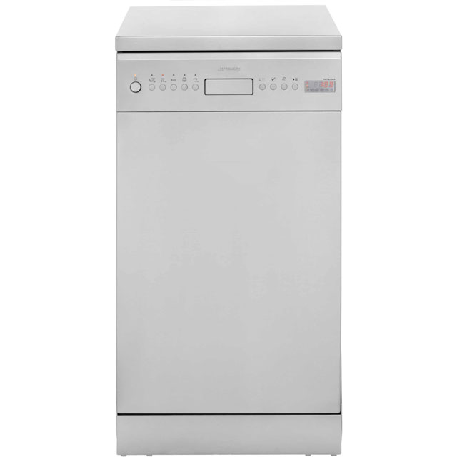 Smeg D4SS-1 Slimline Dishwasher - Stainless Steel - A+ Rated - D4SS-1_SS - 1