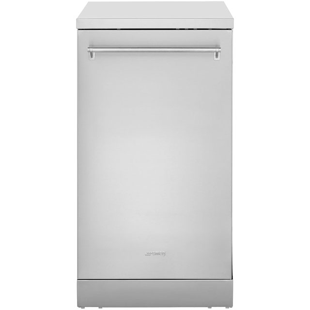 Smeg DF4SS-1 Slimline Dishwasher - Stainless Steel - A+ Rated - DF4SS-1_SS - 1