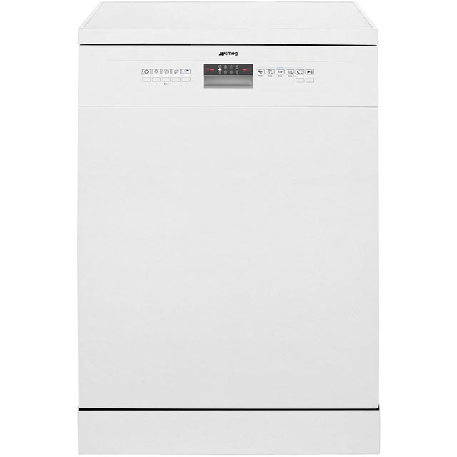 Smeg DF612AEW Standard Dishwasher - White - A+ Rated - DF612AEW_WH - 1