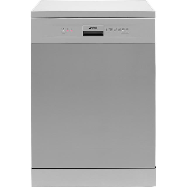 Smeg DF612SVE Standard Dishwasher - Silver - A+ Rated - DF612SVE_SI - 1
